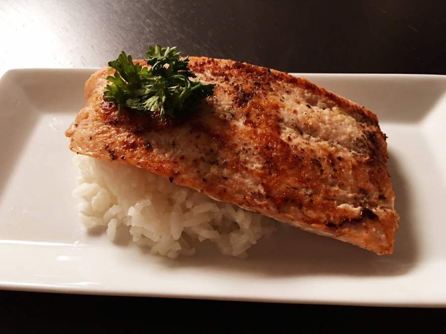 Salmon and Rice Delight