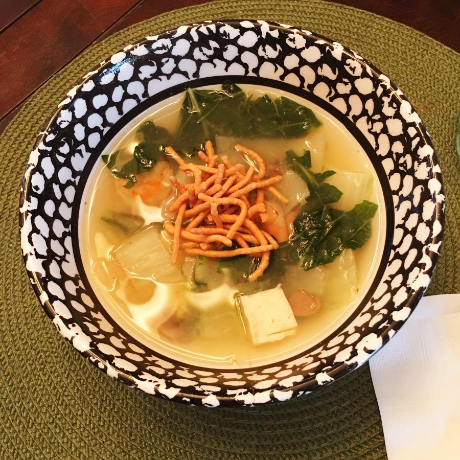 War Ton Soup, Sans Wontons