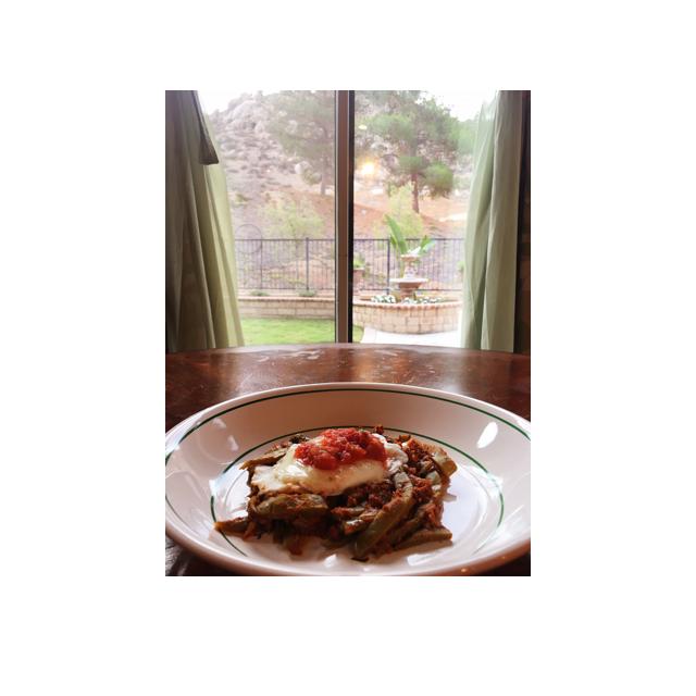 Nopales & Chorizo w/a PoachedEgg