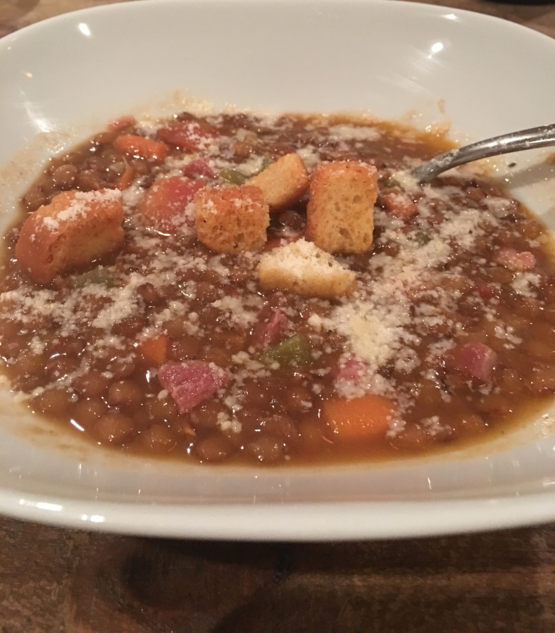 A Great Lentil Soup with Ham Hock