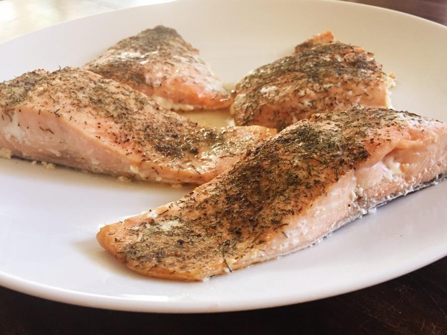 Salmon W/Dill